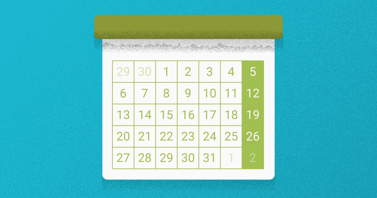 Consejos para crear un calendario de contenidos